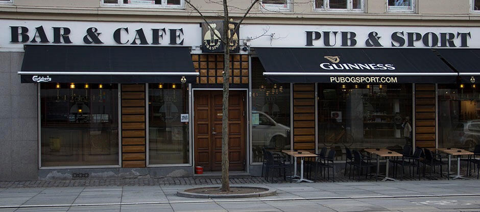 Pub & Sport is the best sports bar in Copenhagen. You can watch many different sports on one of our 12 tv screens.