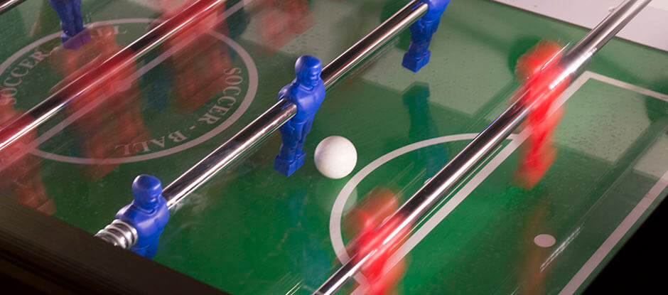 If you are looking for the perfect place to play table football with you friends, then you have come to the right place. Play table football in Copenhagen at Pub & Sport.